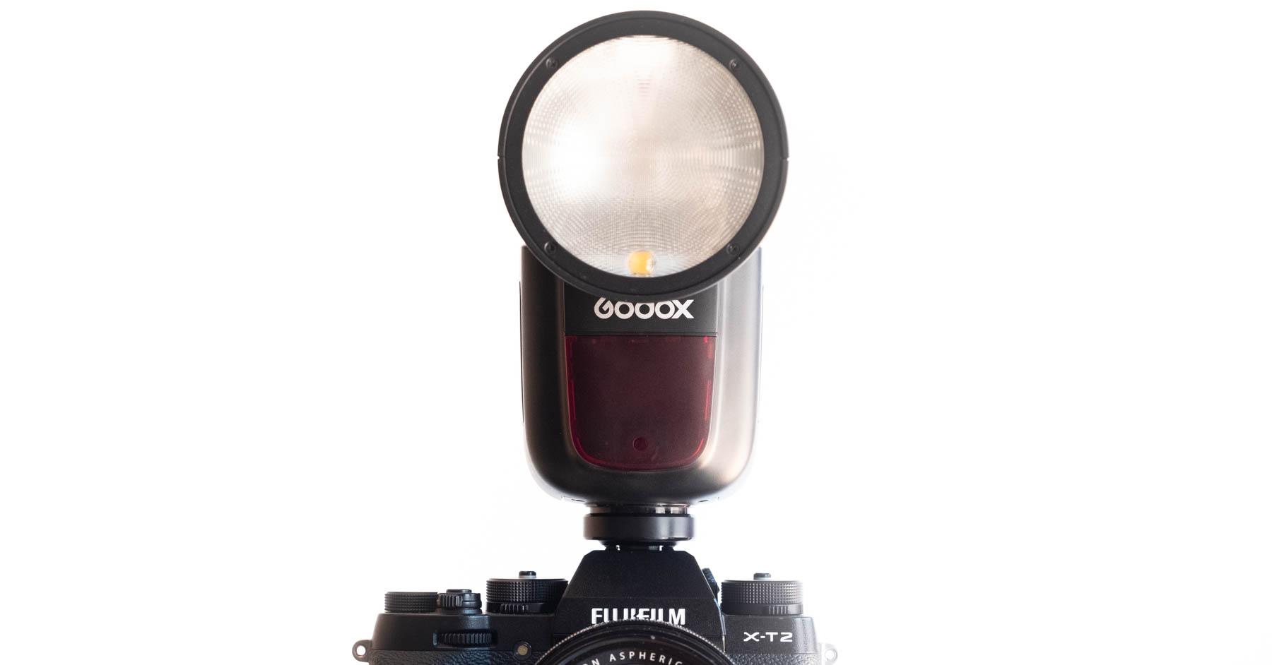 Probando el Godox V1… ¿el mejor flash de cámara?