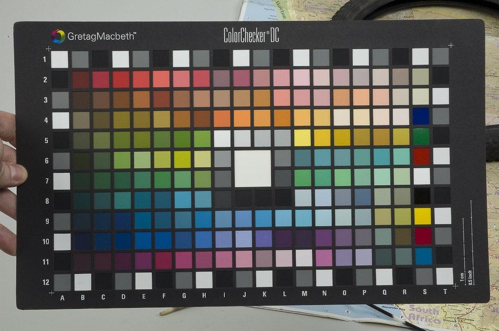 Gestión de color (II). Proceso de perfilado para cámaras.