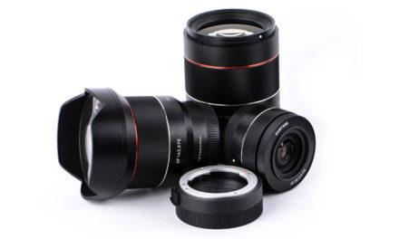 Samyang AF 35mm ƒ/1,4 FE, su 4º objetivo con autofocus