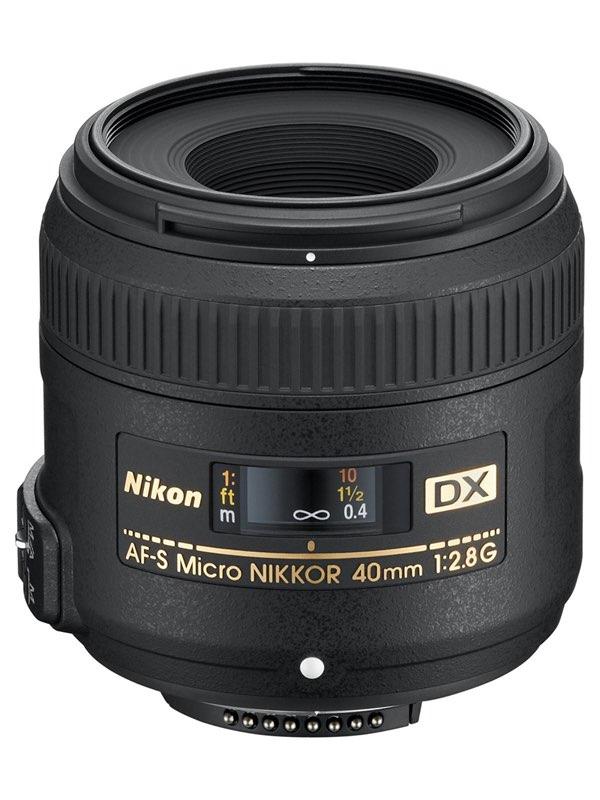 Nuevo objetivo Nikon AF-S DX Micro NIKKOR 40 mm f/ 2,8G