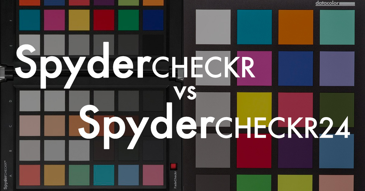 Diferencias entre Datacolor SpyderCHECKR y SpyderCHECKR 24