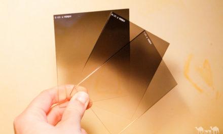 Cómo conseguir el efecto del filtro degradado con una cartulina negra