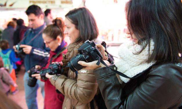 Así fue el curso de fotografía Fotowalk Barcelona 2 del 23 de enero de 2016