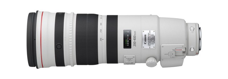 EF 200-400mm L IS USM SIDE LEFT