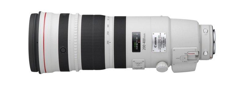 EF 200-400mm L IS USM SIDE LEFT