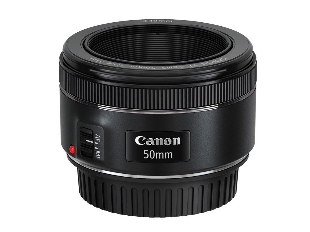 Canon actualiza su 50 mm f/1,8