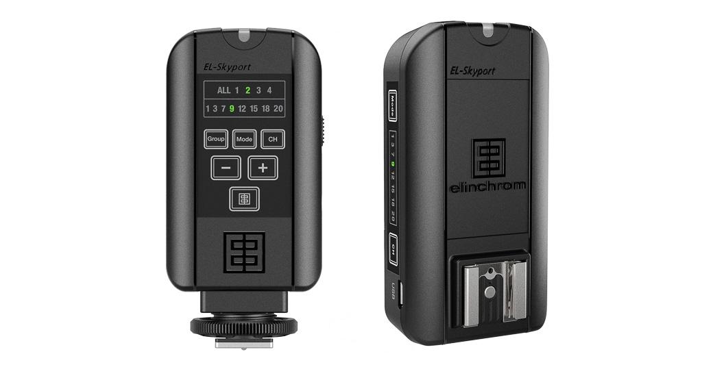Nuevos kits de iluminación Elinchrom con el nuevo disparador Skyport Plus