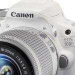Canon EOS 100D + 18-55, ahora en blanco