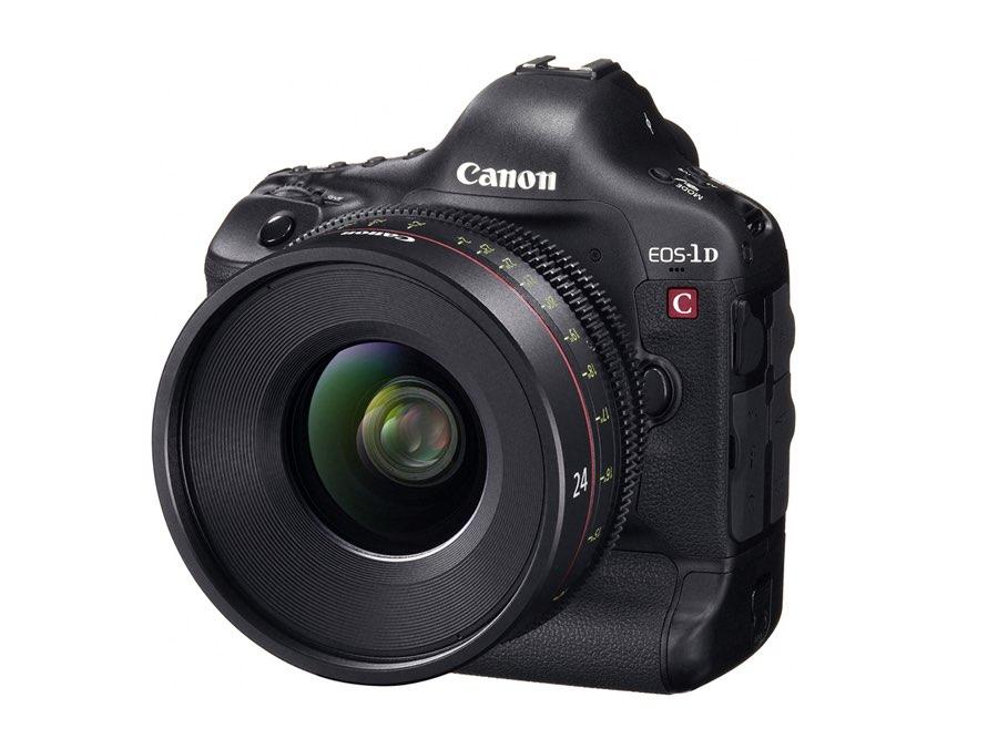 Nueva Canon EOS-1D C, y en desarrollo la EOS C500 y 4 objetivos