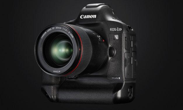Canon EOS-1D X Mark II, 20Mp, 14-16fps y vídeo 4K