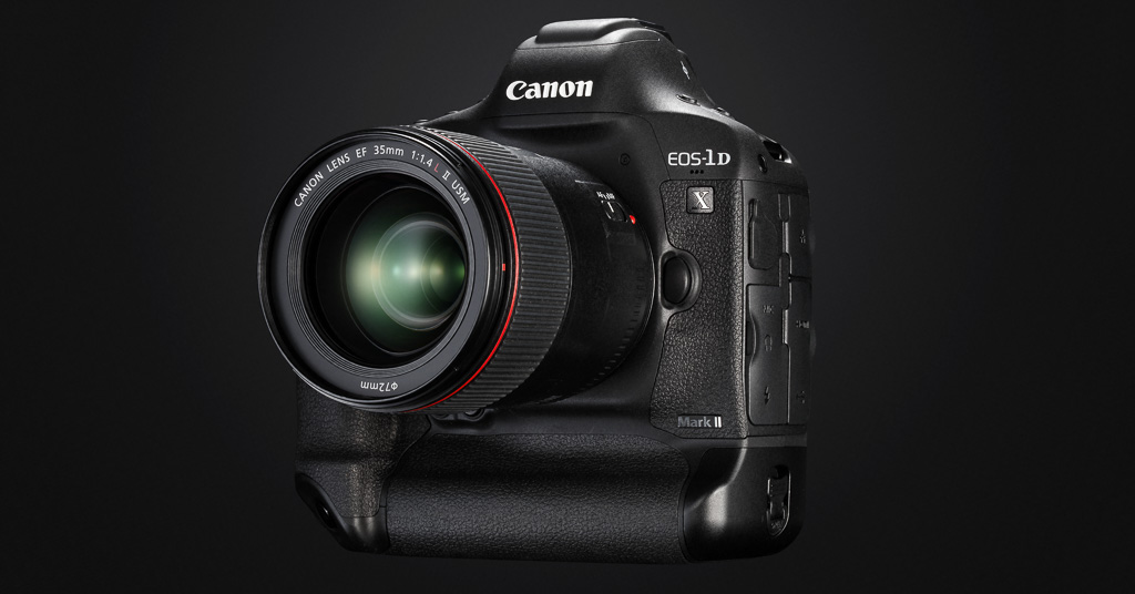 Canon EOS-1D X Mark II, 20Mp, 14-16fps y vídeo 4K
