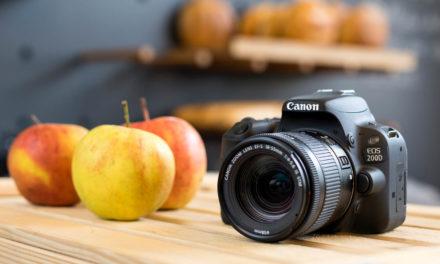 Canon EOS 200D, nueva DSLR básica por 600€ (700€ con objetivo)