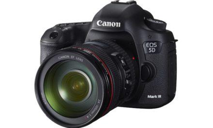 Canon EOS 5D Mark III, Nota de Prensa oficial e Imágenes