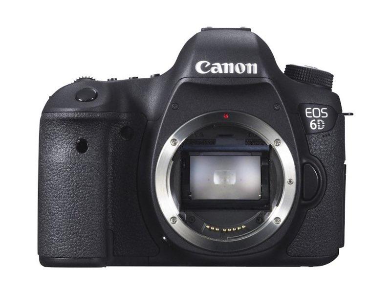 Canon EOS 6D, su cámara réflex digital de formato completo más pequeña y ligera