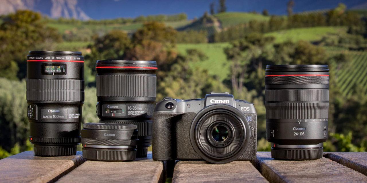 Canon EOS RP, la mirrorless de formato completo por 1.600€