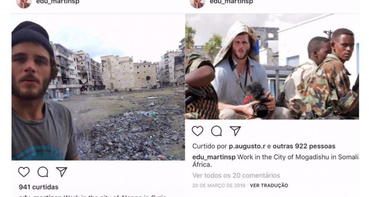 """Eduardo Martins, el falso fotógrafo de la ONU que robaba """"sus fotos"""""""