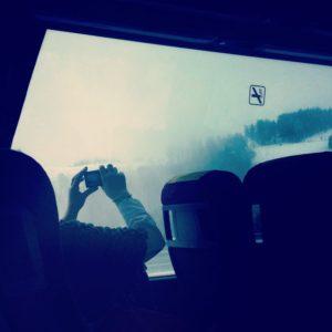 Fotos desde el bus: Donostia - Logroño - Donostia.
