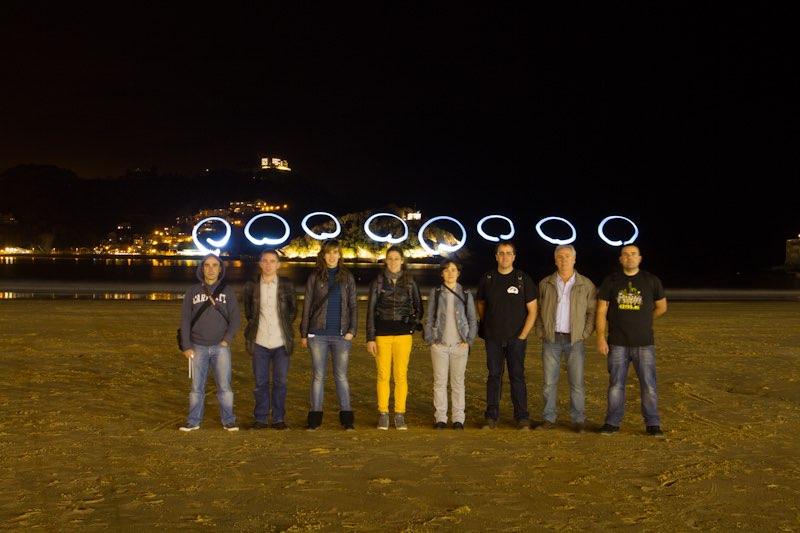 Fotowalk Donostia Nocturno.