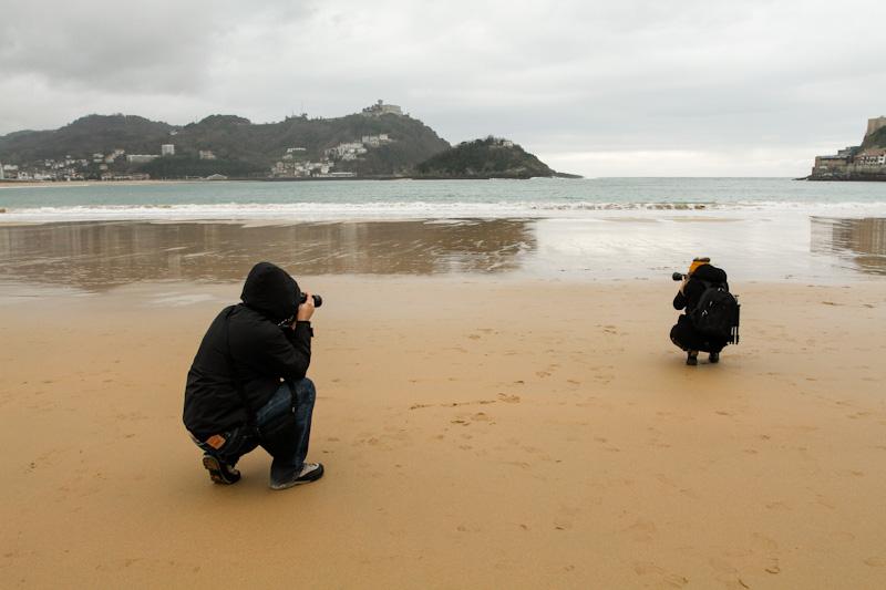Curso de Fotografía Fotowalk Donostia 1, 12 de enero del 2013