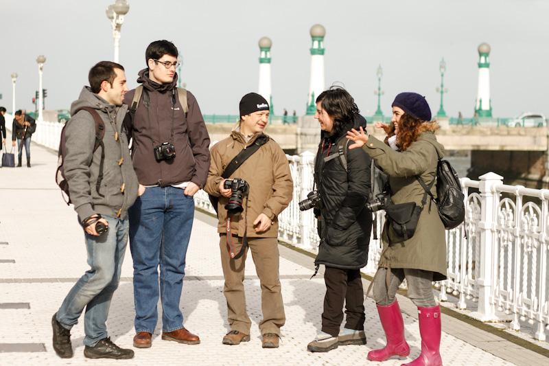Curso de fotografía Fotowalk Donostia 3, 26 de enero del 2013