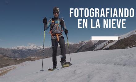 Fotografiando en la nieve