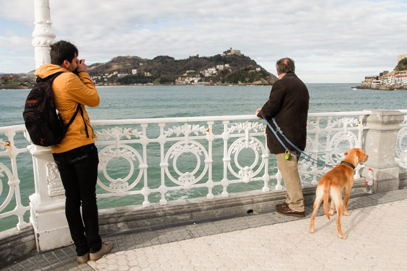 Curso de Fotografía Fotowalk Donostia 1, 22 de febrero de 2014