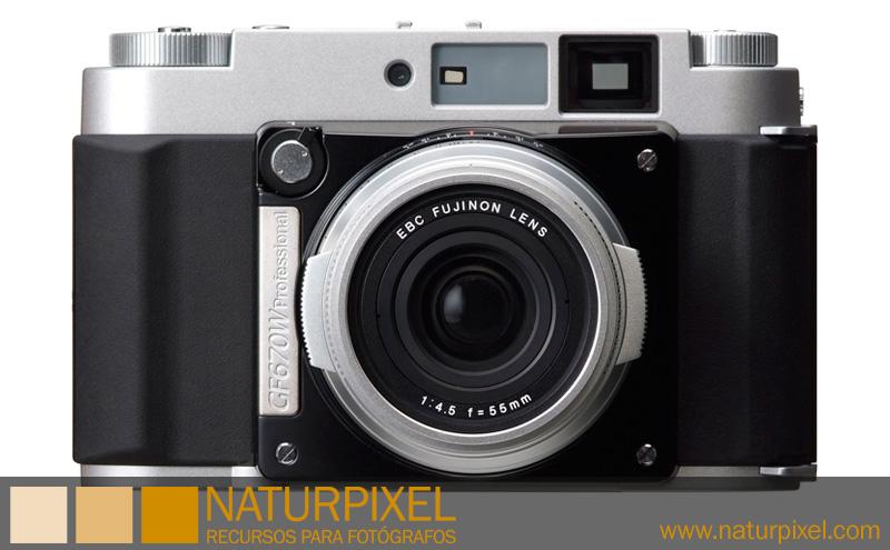 Fuji GF670W Professional. Nueva cámara de formato medio