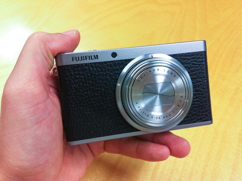 Fujifilm XF1, la nueva cámara de la serie X