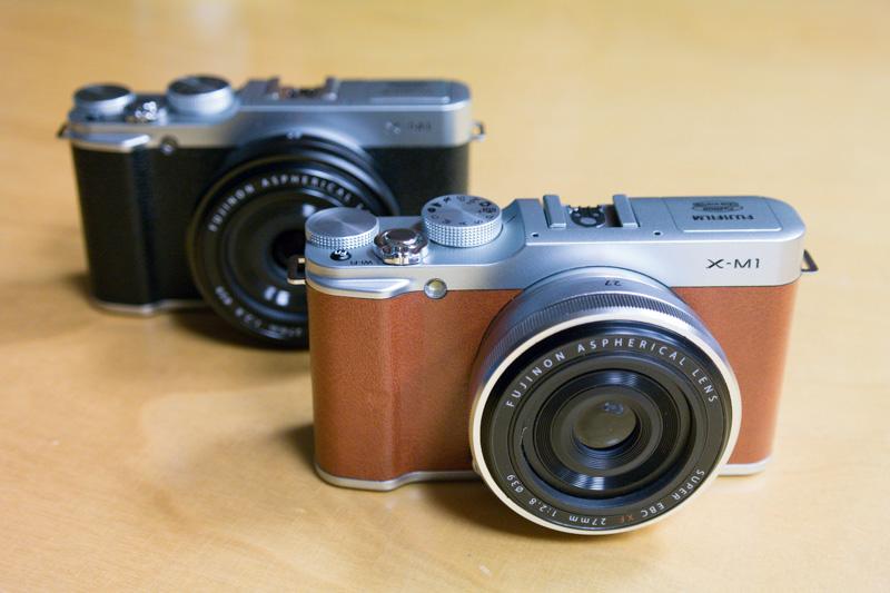 Toma de contacto con la Fujifilm X-M1