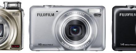 Nuevas cámaras digitales Fujifilm FinePix F600EXR, JX370 y JX420