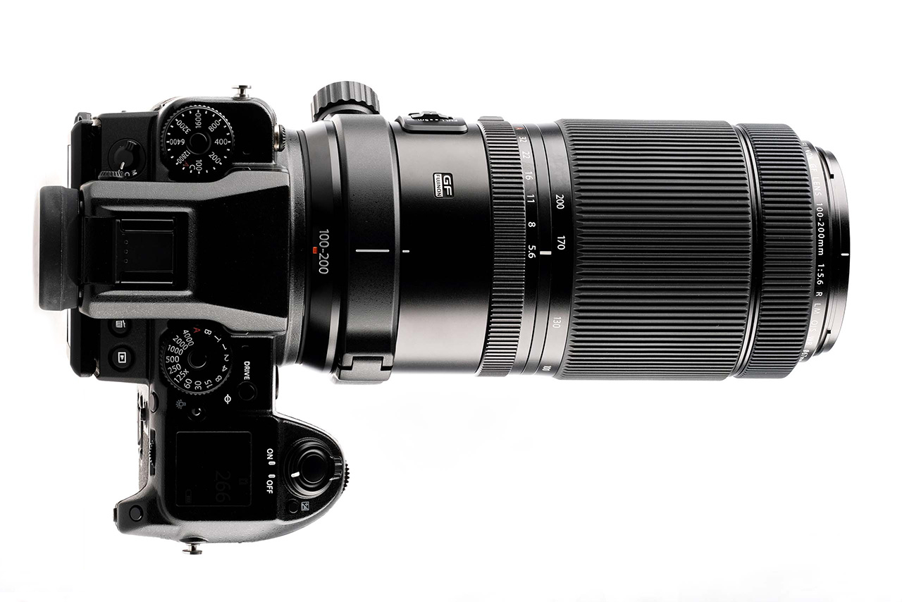Nuevo objetivo para el sistema GFX de Fujifilm: Fujinon GF100-200mm ƒ/5,6 R LM OIS WR