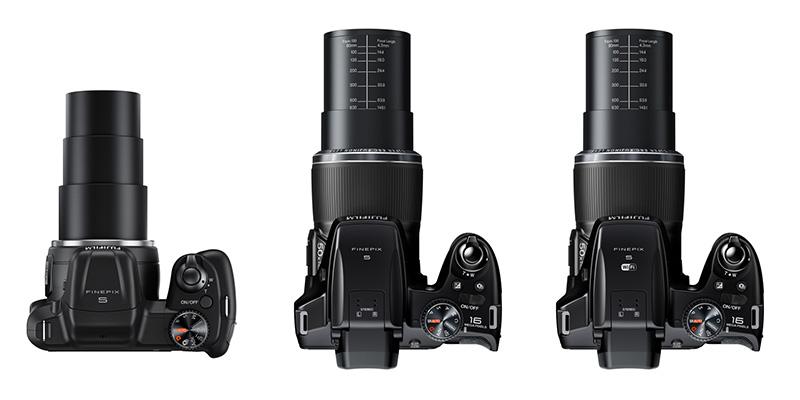 Fujifilm S8600, Fujifilm S9200 y Fujifilm S9400W
