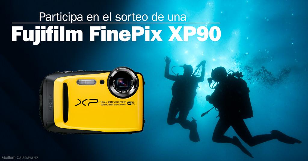 ¿Quieres ganar una Fujifilm FinePix XP90? Participa en este sorteo