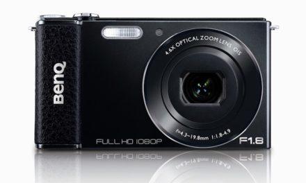 BenQ G1, con pantalla giratoria y lente luminosa F1.8