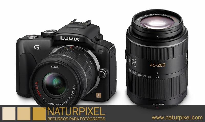 Nueva LUMIX DMC-G3 de Panasonic
