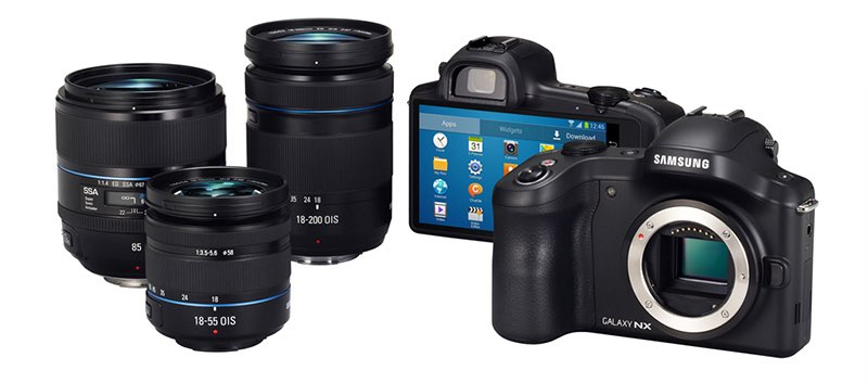 Samsung Galaxy NX, con Android y 3G/4G