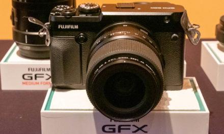 Presentación del sistema GFX de Fujifilm en Foto Colectania