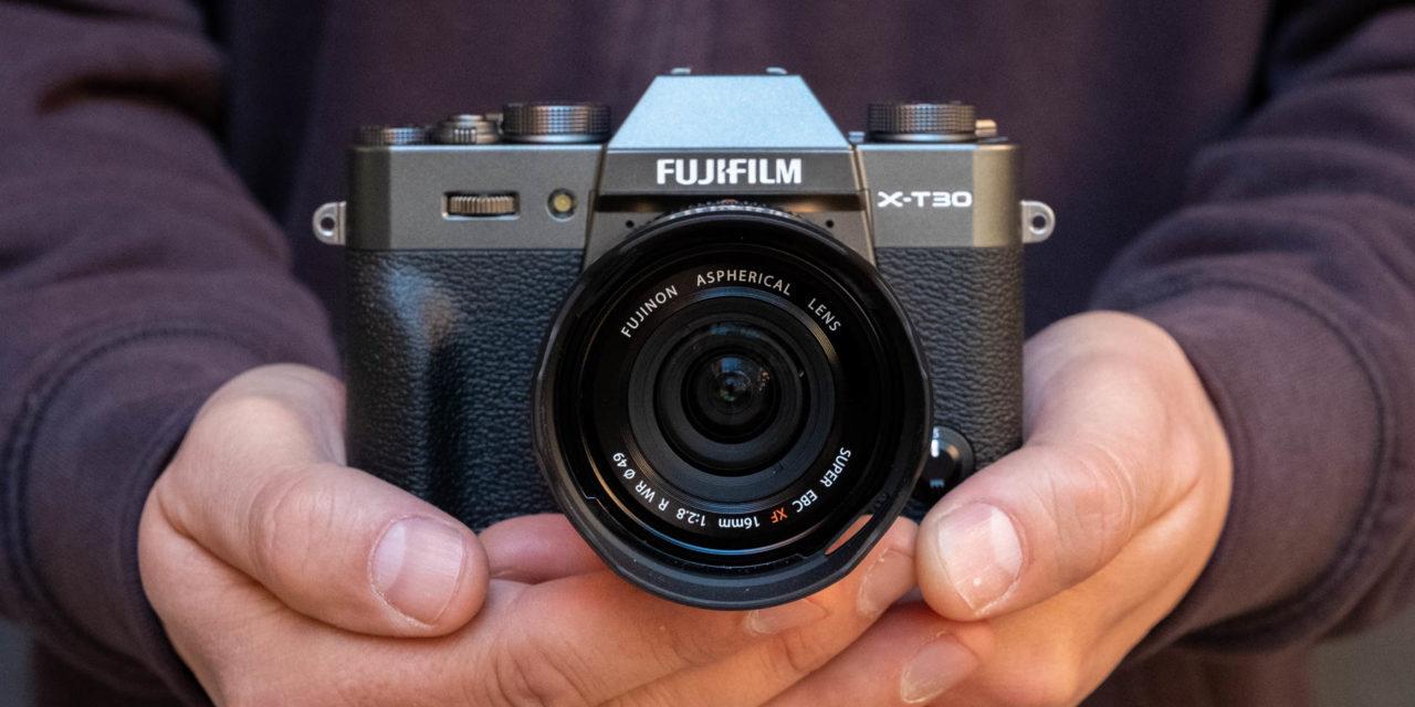 Fujifilm X-T30, nueva cámara pequeña pero muy potente