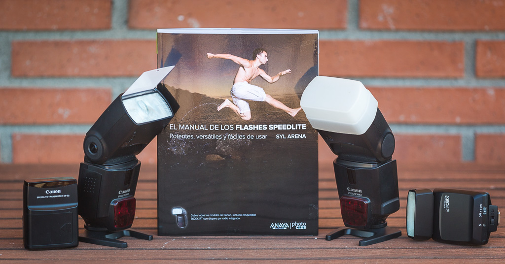 ¿Cómo usar el flash de Canon? Descúbrelo con este libro…