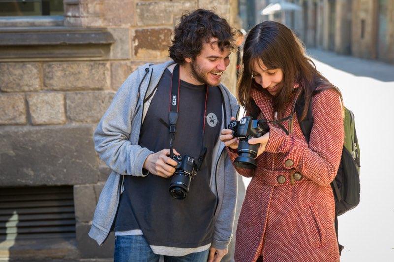 Curso de Fotografía Fotowalk Barcelona 1, 15 de febrero de 2014