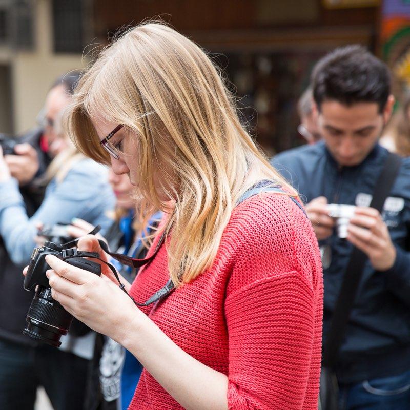 Curso de Fotografía Fotowalk Barcelona 1, 12 de abril de 2014