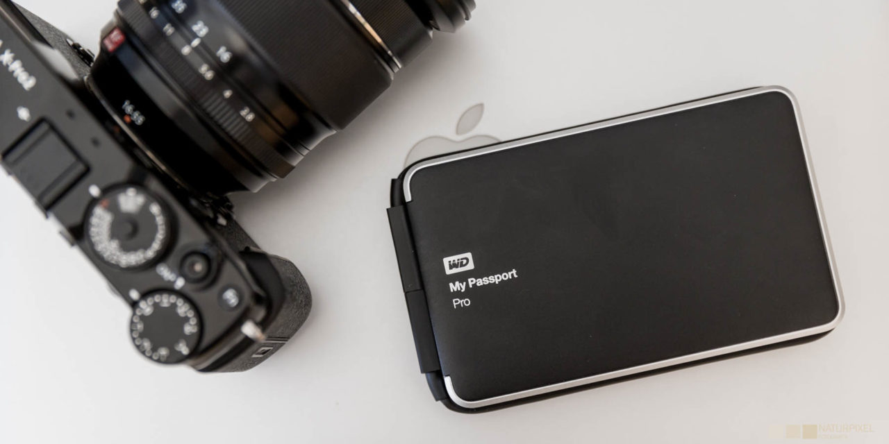 WD My Passport Pro, un disco duro portátil con RAID para MAC