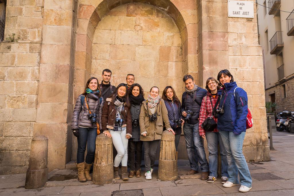 """Así fue el Curso de Fotografía """"Fotowalk Barcelona 1"""" del 20 de febrero de 2016"""