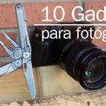10 gadgets recomendados para fotógrafos