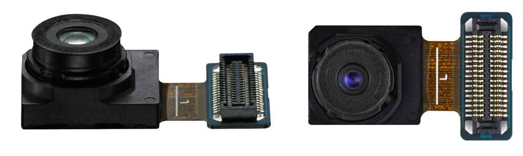 Cámara frontal del Galaxy S6 y S6 edge
