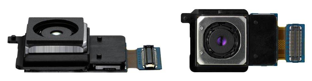 Cámara trasera del Galaxy S6 y S6 edge