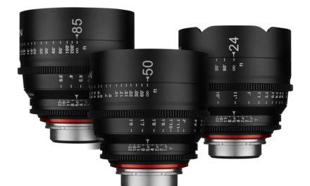 Samyang presenta la serie XEEN, objetivos para vídeo y cine