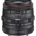 Pentax 20-40mm f/2.8-4 WR, el primer objetivo zoom de la serie Limited