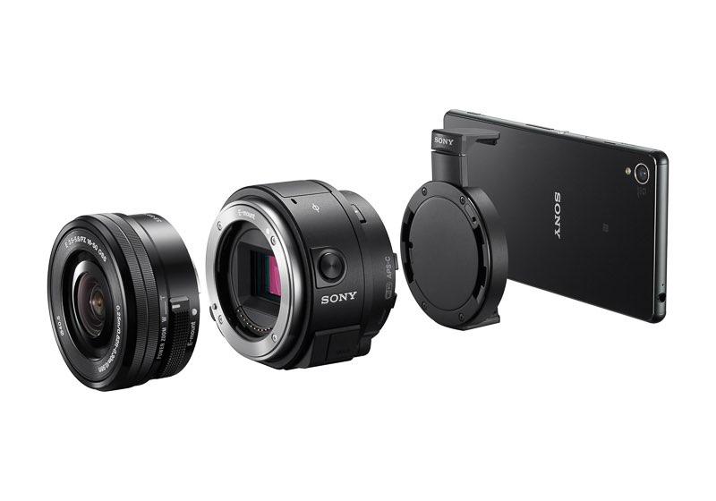 Sony amplía su gama de cámaras Lens-style, ahora con objetivos intercambiables