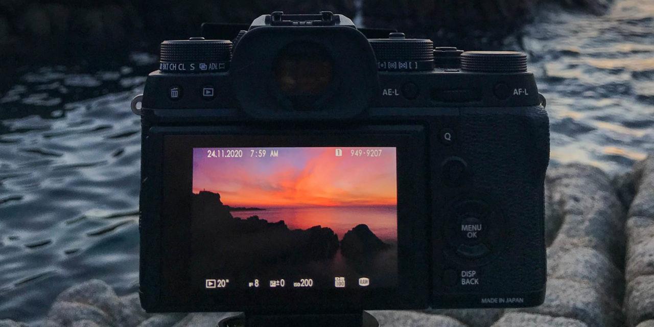 Larga exposición durante el amanecer con el filtro ND de 10 pasos de K&F Concept